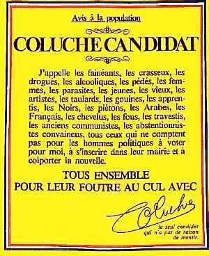 Coluche ... 8gx49wac