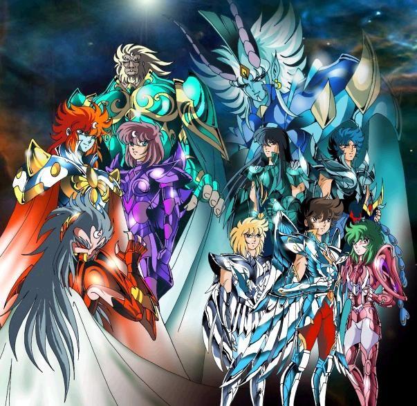 Serie tv et dessin anime page 11 - Chevalier du zodiaque coloriage ...